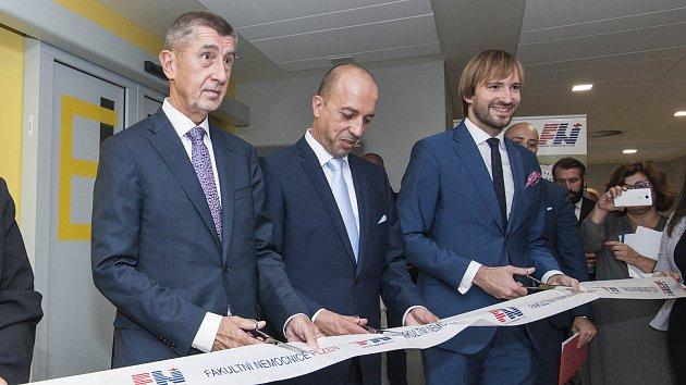 Otevření nového urgentního příjmu FN Plzeň