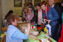 Více než dvě stě návštěvníků si prohlédlo tradiční velikonoční výstavu, kterou už desátým rokem připravují žichlické ženy.