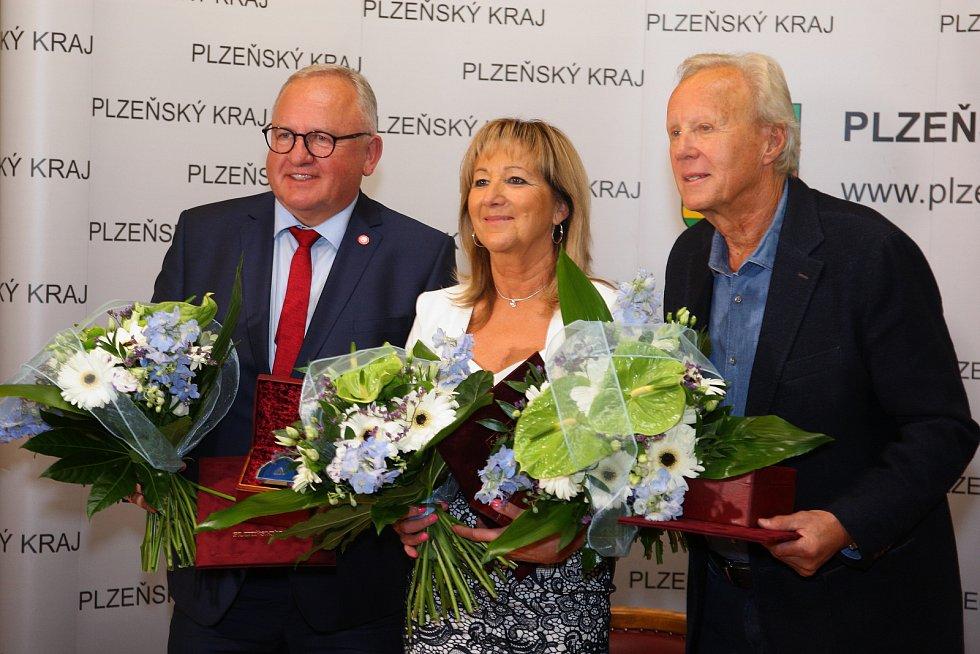 Do Dvorany slávy Plzeňského kraje byli uvedeni Václav Berka, Jaroslav Soukup a Libuše Škvařilová