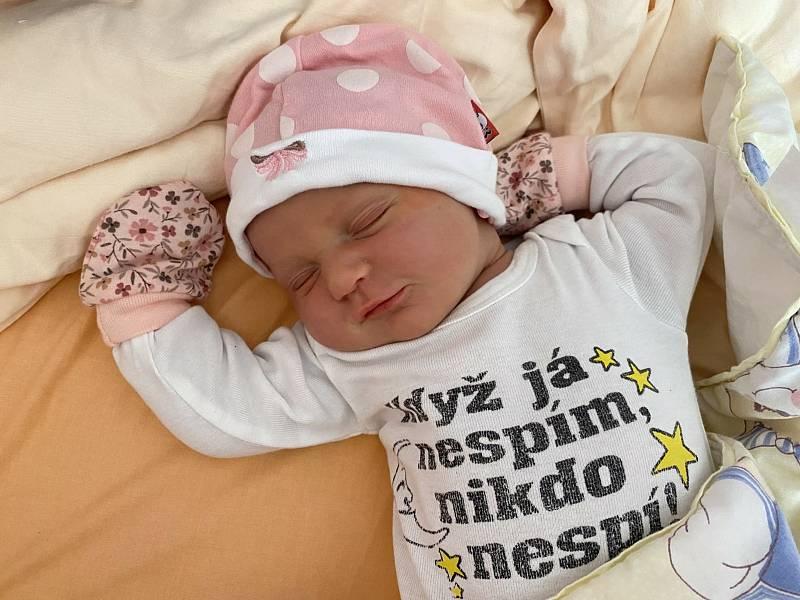 Laurinka Kociánová (4080 g, 53 cm) se narodila ve FN Lochotín 22. září 2021 v 8:26 hodin mamince Karolíně a tatínkovi Michaelovi z Plzně. Na malou sestřičku se moc těšil bráška Matěj (2,5).
