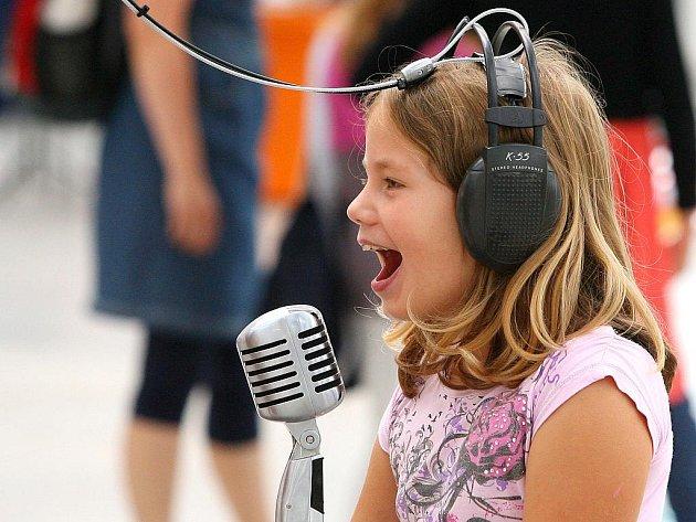 Jednou z expozic plzeňského science centra Techmania je Music for Kids