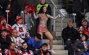 Semifinále play off hokejové extraligy - 5. zápas: HC Oceláři Třinec - HC Škoda Plzeň, 11. dubna 2019 v Třinci.