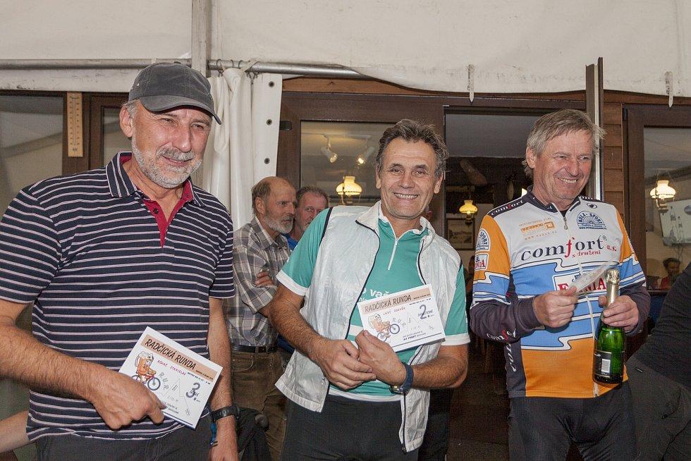 Masters nad 60 let: zleva Stanislav Achac, Zdeněk Levý a Zdeněk Janda.