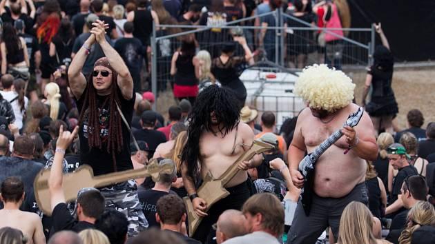 Druhý den Metalfestu