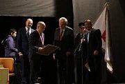 Beseda prezidenta Miloše Zemana v Konstantinových Lázních