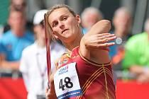 DESÁTÝ TITUL. Největší hvězda mistrovství České republiky v atletice v Plzni Barbora Špotáková (vlevo) získala zlato v oštěpu.