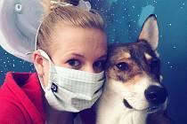 Barbora Mazínová vyrábí pod značkou Liška4dogs stylové obojky, vodítka a postroje pro psy.