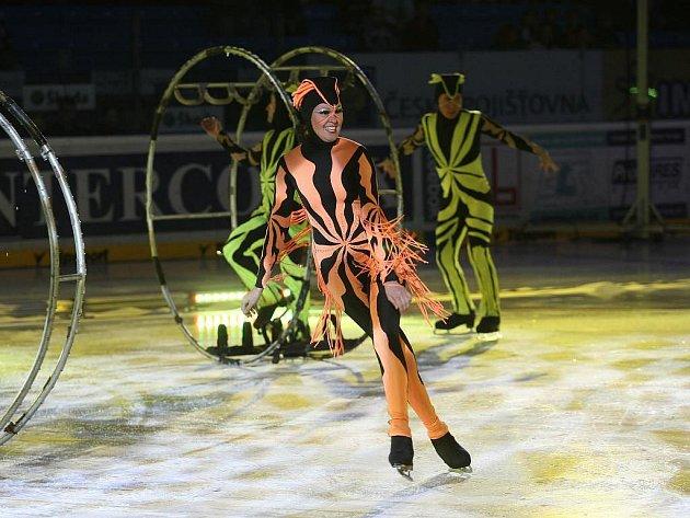 Ruský ledový cirkus v plzeňské ČEZ aréně