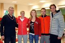 Pro přípravu na Australian Open si vybrala česká tenistka Andrea Hlaváčková moderní halu v Dobřanech