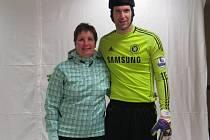 v Anglii se Alena Knězková setkala s bývalým žákem 33. ZŠ v Plzni Petrem Čechem.
