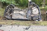 Řidič nepřežil srážku dvou vozů