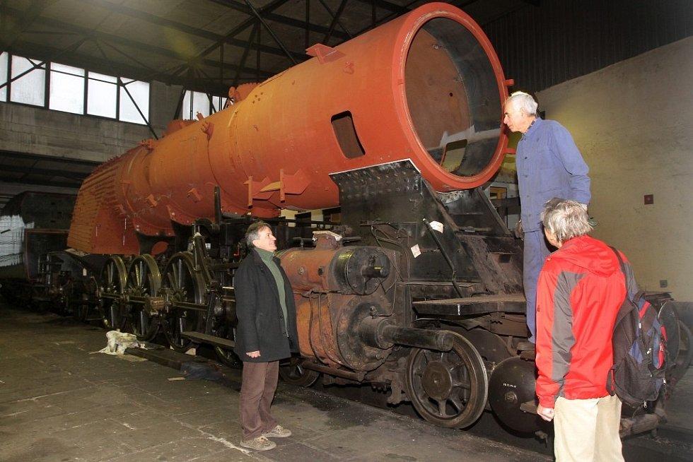 Parní lokomotiva Šlechtična má opravený kotel. Na koleje by se měla vrátit v květnu