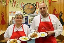 Den španělské kuchyně na 15. ZŠ Skvrňany
