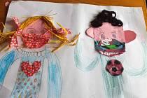 Žáci přípravné třídy 0.A Bolevecké základní školy kreslili a tvořili.