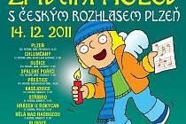 Přijďte si 14. prosince zazpívat vánoční koledy do Plzně, Chlumčan, Sušice, Spáleného Poříčí, Přeštic, Kasejovic, Stříbra, Hrádku u Rokycan, Bělé nad Radbuzou, Blovic, Domažlic, Klatov nebo Mirošova. V 18 hodin navíc v přímém přenosu ČRo Plzeń