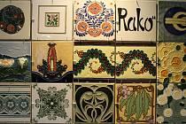Výstava Poklady v českých keramických obkladech v Centru stavitelského dědictví Plasy.