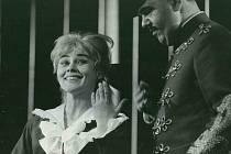 S Jiřím Mieglem v Hervéově operetě Mamzelle Nitouche.