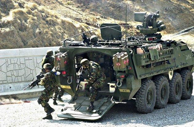 Obrněný transportér Stryker