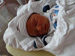 Filip Koutník se narodil 27. května ve dvě odpoledne mamince Evě a tatínkovi Josefovi z Třemošné. Po příchodu na svět ve FN vážil jejich prvorozený syn 3580 gramů a měřil 50 centimetrů