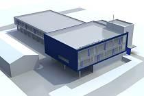 Vizualizace nového sídla záchranky na Borech