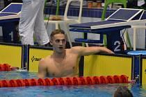 Vítěz závodu na trati 1500 metrů volným způsobem a 200 metrů motýlek Ondřej Gemov byl součástí vítězné štafety MIX.