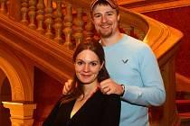 Kateřina Emmons s manželem Mattem