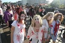 Zombiewalk, tedy pochod zombie Plzní