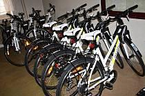 Jízdní kola jsou k pronájmu v Tachově.