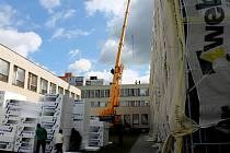 Jedním z hlavních letošních projektů bylo zateplení Masarykovy základní školy. Pracovalo se na něm od května, teď jsou práce za 412 tisíc korun před dokončením