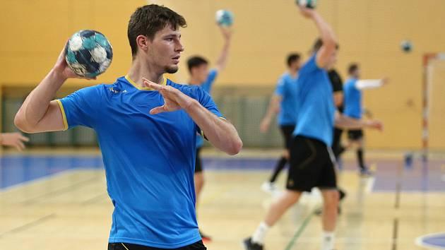 Tomáš Nejdl ve finále play-off 2021 proti Karviné.