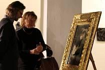 Obraz s lehce ironickým názvem – Kurzshchluss je termín používaný v němčině v oblasti elektřiny a znamená krátké spojení nebo zkrat – znázorňuje polibek a je na něm zachycen samotný Max a jeho tehdejší múza a milenka Ernestina Harlanderová.