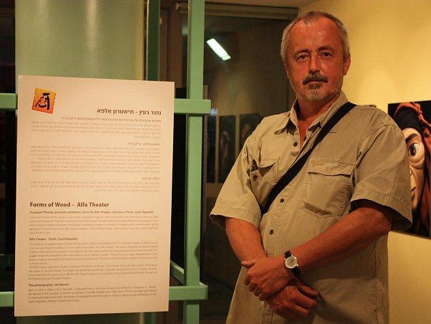 Jan Rauner v Tel Avivu navštívil výstavu o loutkářství