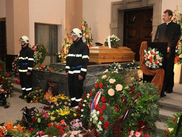 Hasiči se rozloučili s Miloslavem Pytlíkem