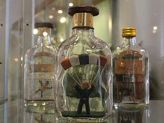 Výstava Svět v lahvi v Domu historie Přešticka