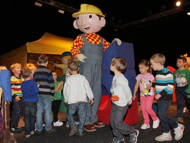 V Plzni bavil děti Bořek stavitel