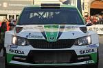 54. Rallye Šumava - cílová rampa.
