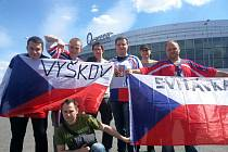 Na státní vlajce nesmí být žádné nápisy, hokejoví fanoušci při nedávném mistrovství světa to ale neřeší