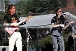 Vystoupení skupiny Louka Band.