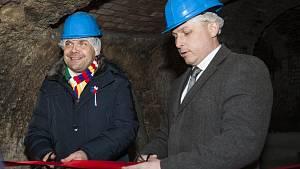 Otevření zrekonstruovaného podzemí