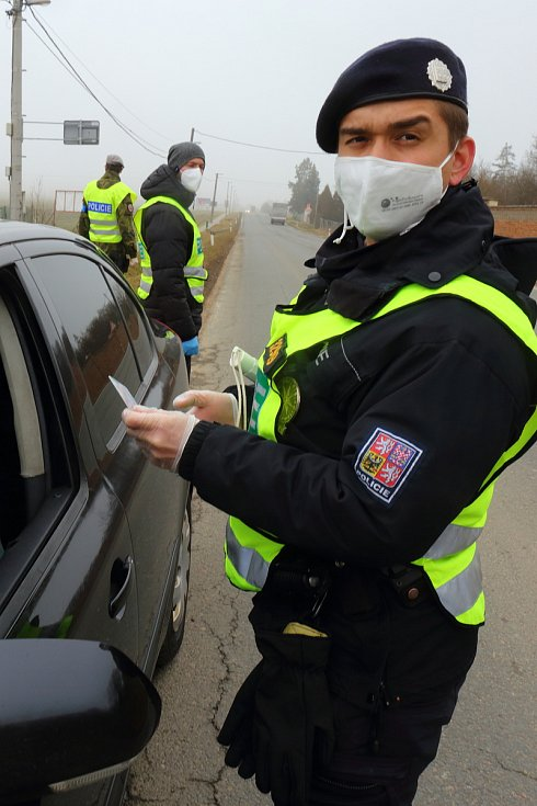 Policejní namátkové kontroly výjezd na Stříbro