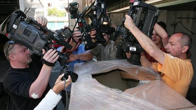 V tomto úkrytu utekli z plzeňské věznice vězni Roman Čabrada a Rostislav Roztočil