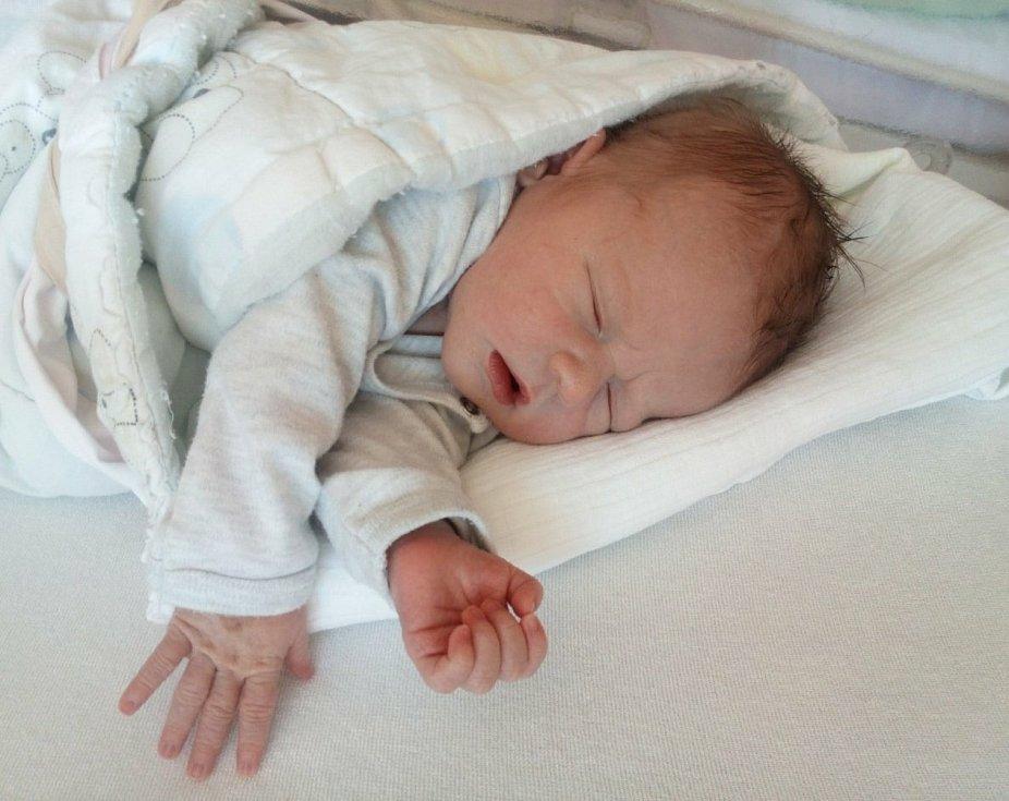 Vojtěch Hrdina ze Seče u Blovic se narodil v klatovské porodnici 5. května v 0:21 hodin (4080 g, 55 cm). Maminka Michaela a tatínek Miroslav se na příchod miminka moc těšili.
