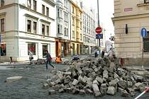 Sedláčkova ulice by měla být v pondělí opět průjezdná
