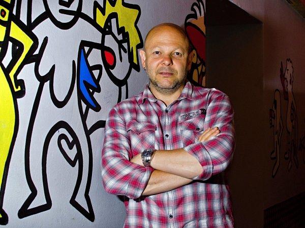 Petr Choura, ředitel plzeňského klubu Divadlo pod lampou.