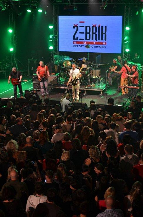 Vyhlášení hudební ankety Žebřík 2012