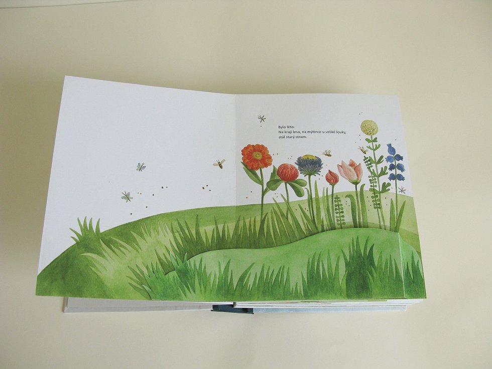 Eva Majerová vytvořila jako svou diplomovou práci pop-up knihu. Ztvárnila v ní příběh myšky, jež vyrazila do světa.