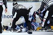 V pátečním zápase 28. kola extraligy prohráli hokejisté Plzně s Brnem těsně 2:3.