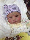 Karolína Bláhová se narodila 28. prosince v 18 hodin mamince Elišce a tatínkovi Josefovi ze Zdemětic. Po příchodu na svět v plzeňské FN vážila jejich dcerka 3730 gramů a měřila 49 centimetrů.