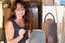 Naděžda Potůčková patří k těm umělcům, kteří poslední víkend otevřou v Plzni své ateliéry veřejnosti