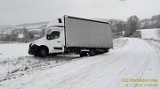 Dopravní nehoda v u Dehtína na Klatovsku.